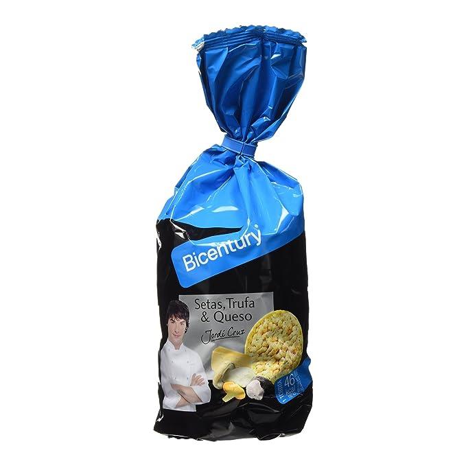 Bicentury - Tortitas de maíz sabor seta, trufa y queso - 124 g