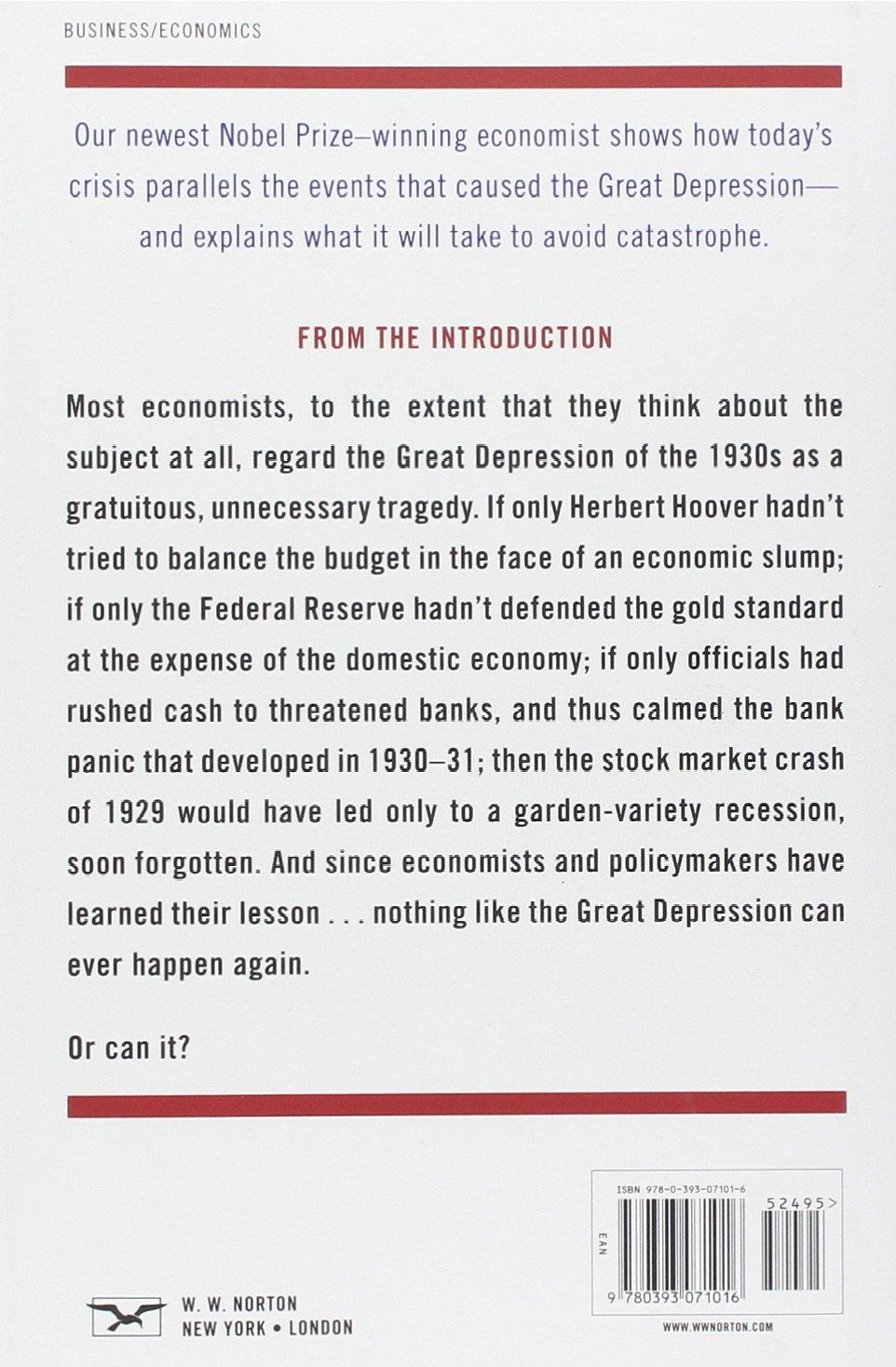 The return of depression economics and the crisis of 2008 amazon de paul krugman fremdsprachige b cher