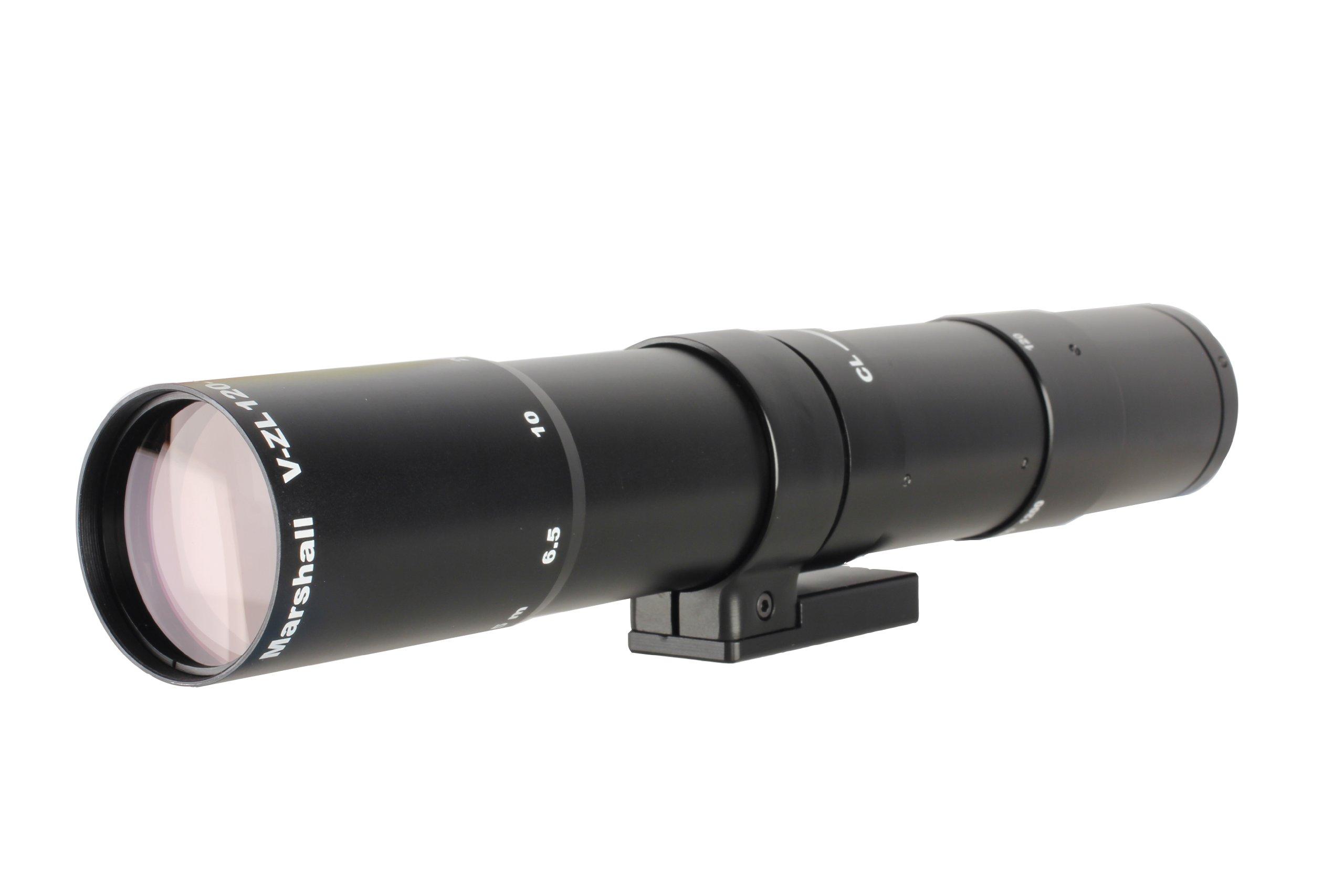 Marshall Electronics V-ZL120-1200 120mm to 1200mm Hi-Tech Zoom Lens (Black)