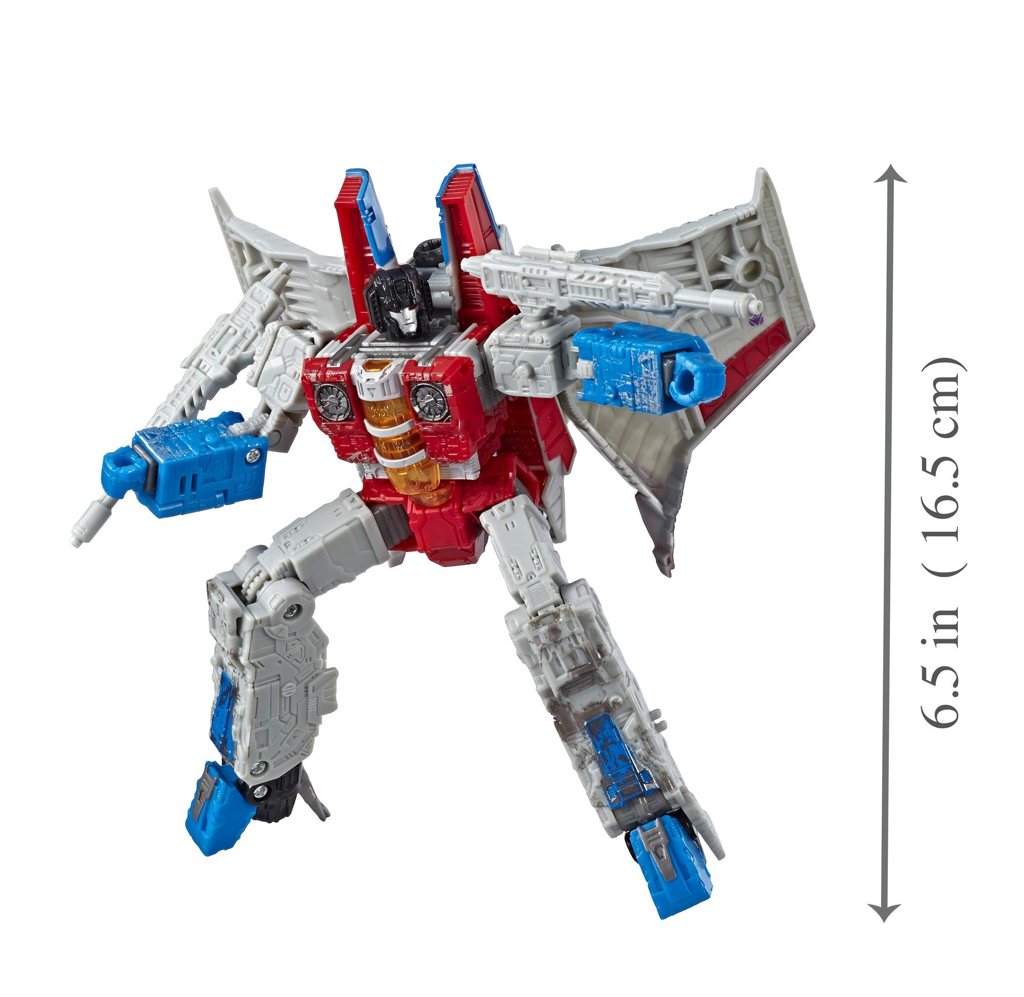 Transformers Toys Generations War for Cybertron Voyager Wfc-S24 Starscream Action Figure - Siege Chapter - Adults & Kids Ages 8 & Up, 7'' by Transformers (Image #8)