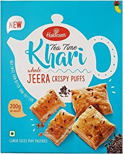 Haldirams Tea Time Khari Jeera - 200 gm