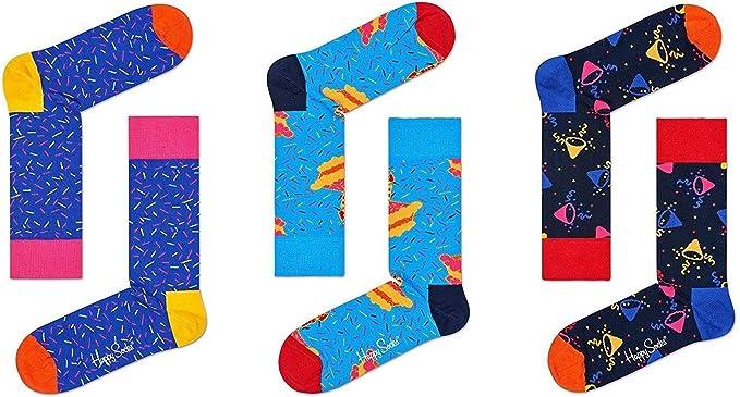 Happy Socks Birthday Gift Box 41/46: Amazon.es: Ropa y accesorios