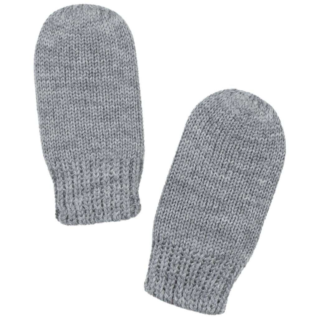 POLARN O. PYRET SOFT MERINO WOOL THUMBLE MITTENS (0-6MOS)