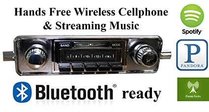 Amazon com: Bluetooth Enabled Stereo for 1958-1967