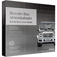 FRANZIS Mercedes Benz Adventskalender | In 24 Schritten zur Mercedes G-Klasse unterm Weihnachtsbaum | Im Maßstab 1:43 | Ab 14 Jahren