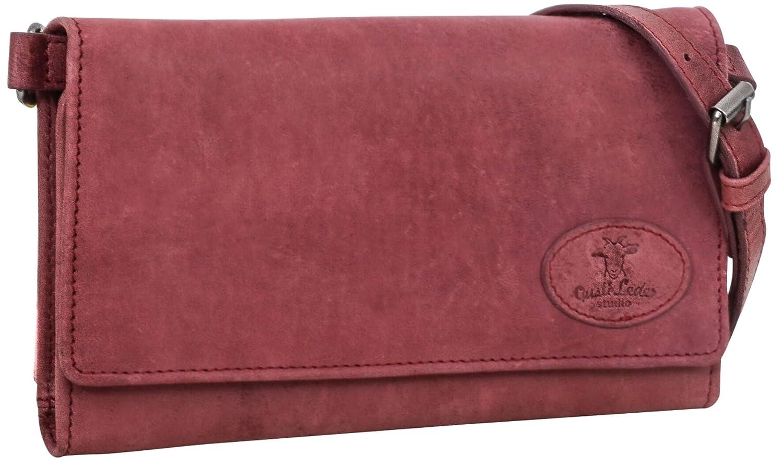 9e7af4057b567 Gusti Leder Studio Umhängetasche aus Leder Giselle Handtasche Damen Weinrot  2H58-29-3  Amazon.de  Koffer