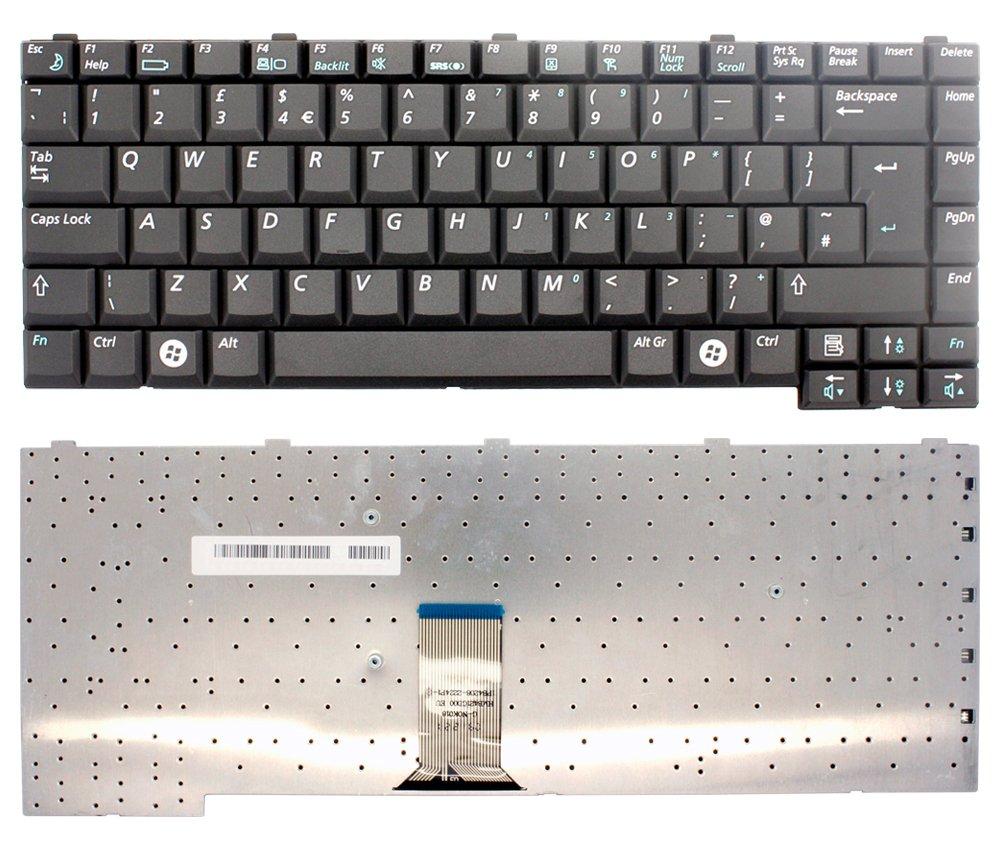 New Samsung R40 NP-R40 series de teclado Inglés blanco para ordenador portátil: Amazon.es: Electrónica