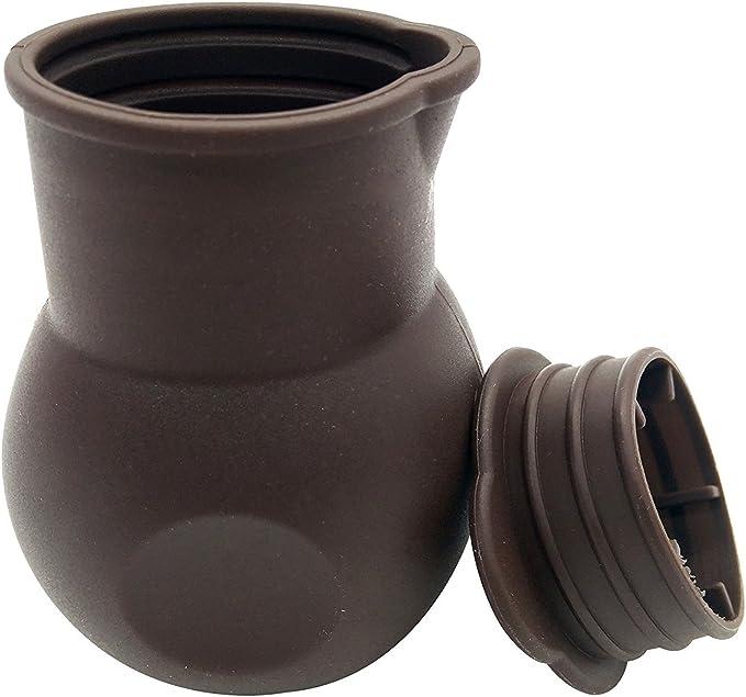 Olla de silicona antiadherente para derretir chocolate, manteca de ...