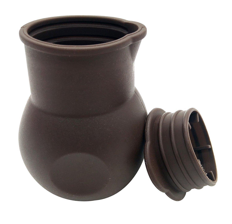 Olla de silicona antiadherente para derretir chocolate, manteca de leche y calor, para microondas