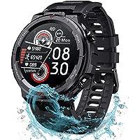 STARKIT Smartwatch dla mężczyzn i kobiet, Smart Watch wodoszczelny 30 m, Tough Sports opaska fitness na świeżym…