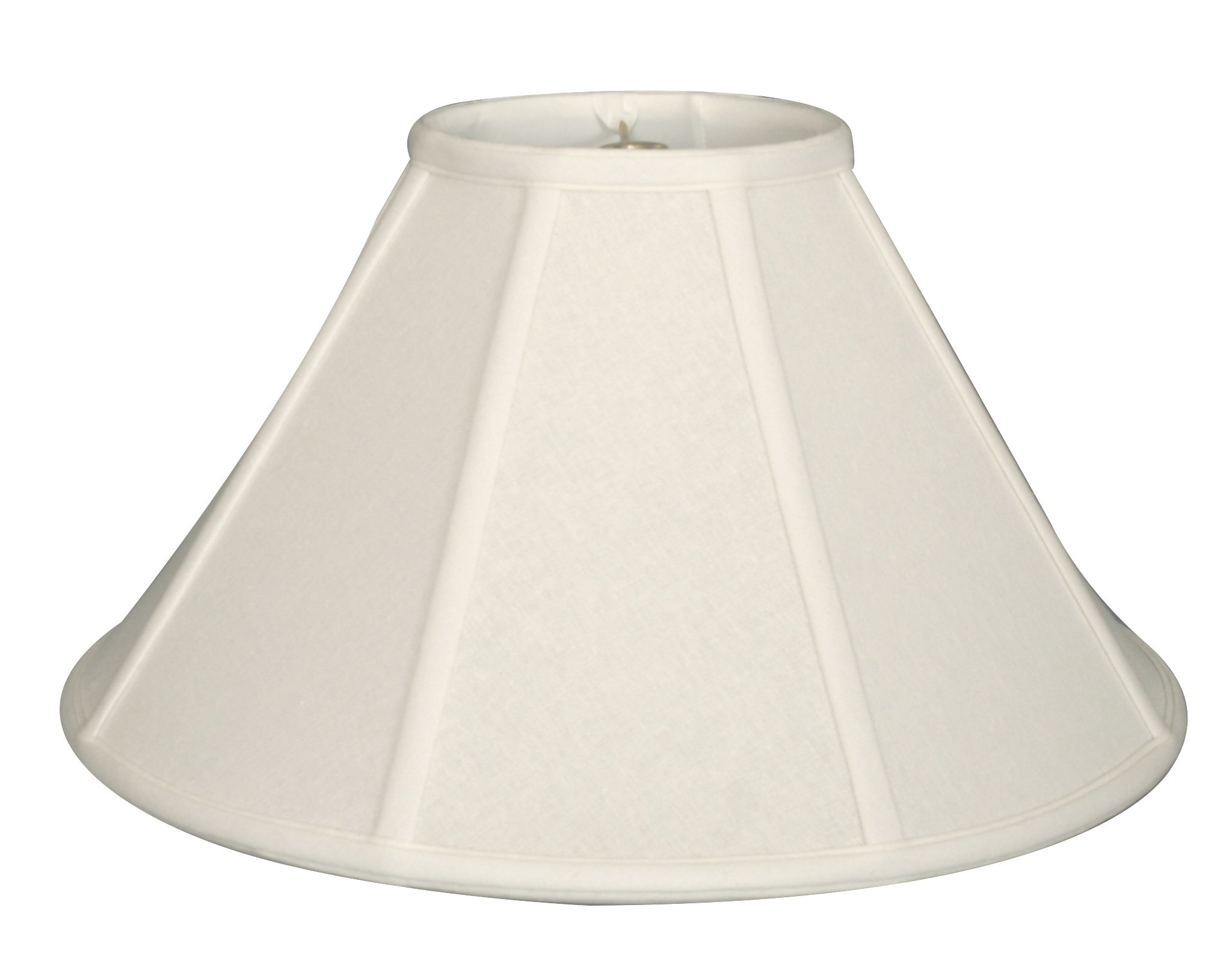 Royal Designs Empire Lamp Shade, Linen White, 8 x 22 x 13.25