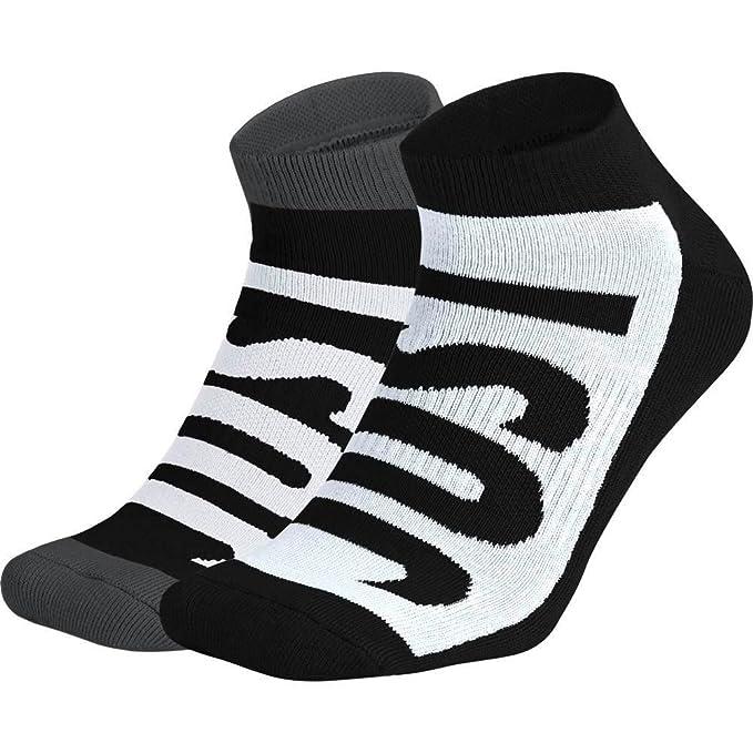 Calcetines Nike – Sportswear No-Show (2 Pair) negro/blanco/carbón