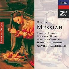 Handel - Messiah / Ameling · A. Reynolds · Langridge · Howell · Marriner