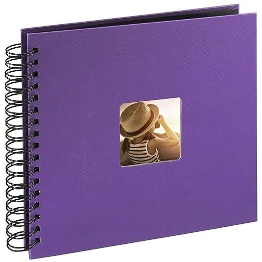 345 opinioni per Hama Fine Art Album Fotografico a Spirale, 50 Pagine, 28 x 24 cm, colore lilla
