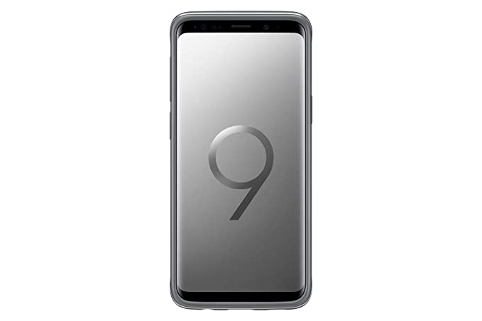 new products 37e25 7185a Samsung Galaxy S9 Protective Standing Cover, Silver (EF-RG960CSEGCA)