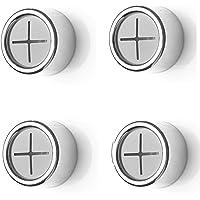 FGX Set Van 4 Premium Handdoekhouders, Zelfklevende Handdoek Houder, Premium Lijm Ronde Handdoekhouder, Ponsvrije Haak…