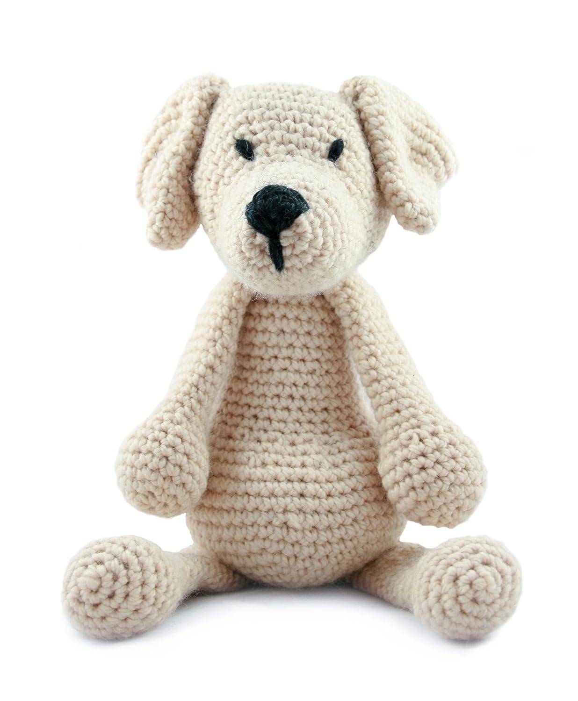 Amazon.com: Toft UK Complete Crochet Animal Kits - Includes Wool ...