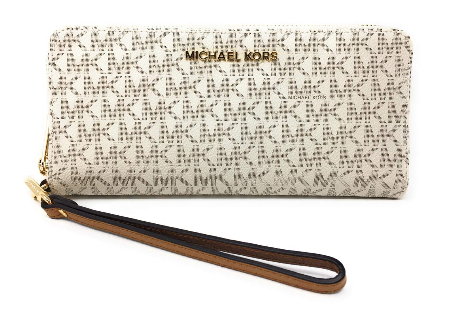 c0f7decb1ee7d7 Michael Kors Women's Jet Set Travel Continental Wristlet product image