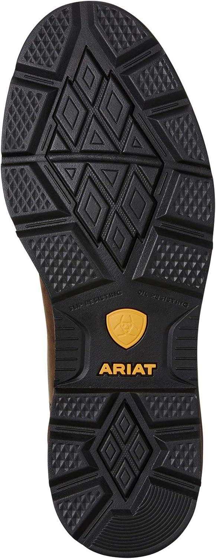 ARIAT Mens Groundbreaker Wide Square Toe Waterproof Work Boot