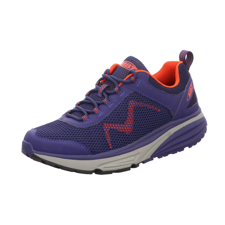 MBT zapatos de Cordones de Material Sintético para Hombre azul púrpura azul naranja