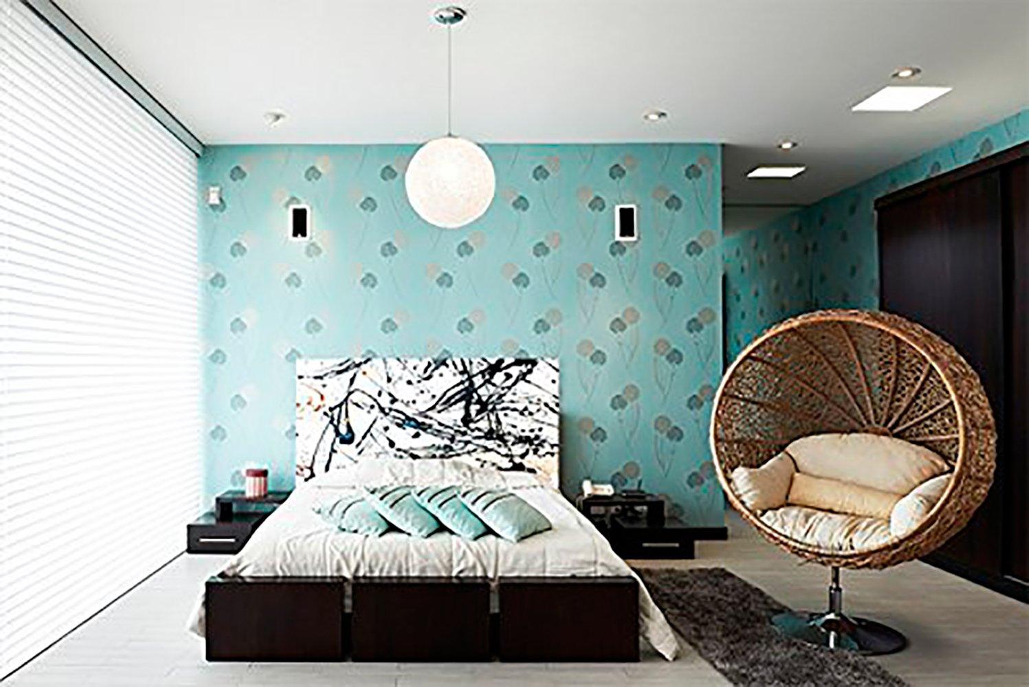 Cabecero Cama PVC Pinceladas | Varias Medidas 100x60cm | Fácil colocación | Decoración Habitación | Motivos paisajísticos | Naturaleza | Urbes | Multicolor | Diseño Elegante Oedim