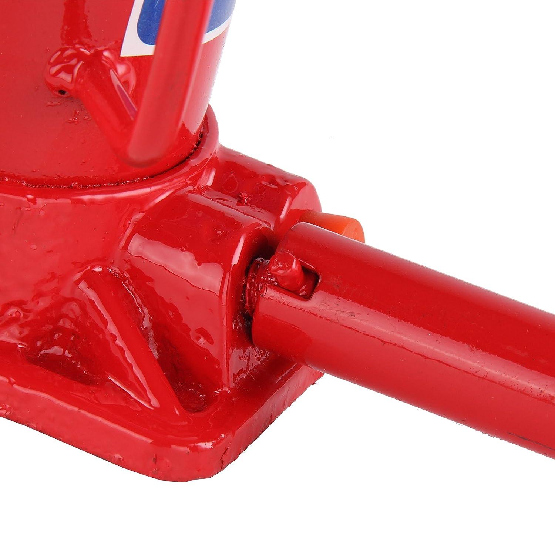AllRight Cric Hydraulique Bouteille Jack R/ésistant 6 Tonnes Rouge de Voiture Ram Levage