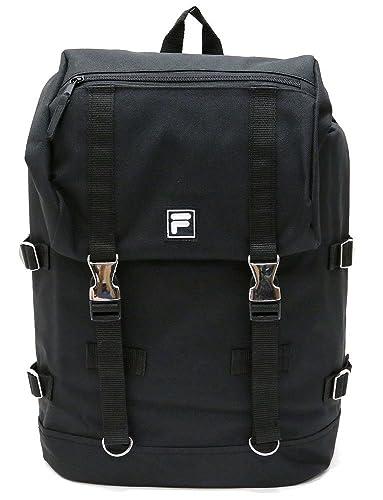 644e0ed55575 Amazon | (フィラ)FILA メタル バックル バックパック ブラック | タウン ...