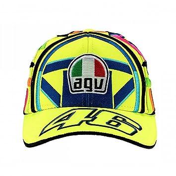Valentino Rossi VR46 Moto GP Replica Helmet Niños Gorra Oficial 2018 ... a45559a05a7