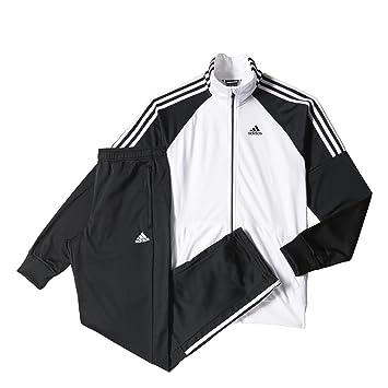 new product 3ae22 7c0e1 adidas Fitness Chándal, Hombre, Blanco Negro, 180