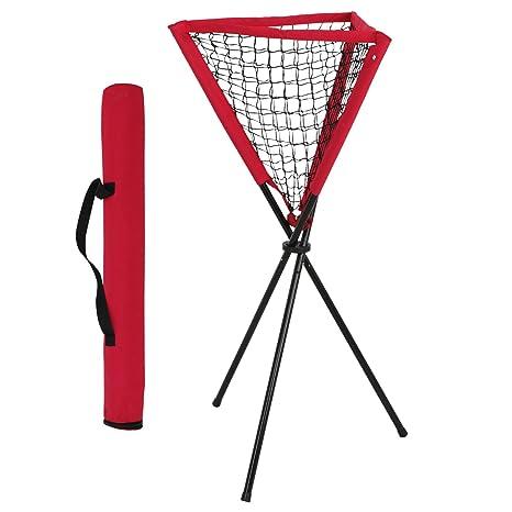 Amazoncom Homgarden Baseball Softball Ball Caddy Portable Batting