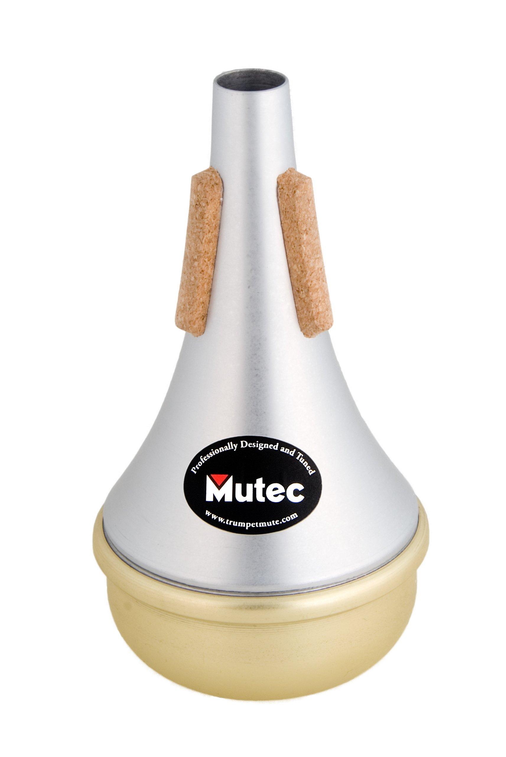 Mutec Straight Mute For Trumpet, Brass Bottom