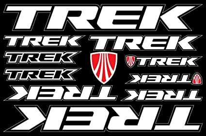 amazon com trek decals stickers bicycle frame replacement graphic