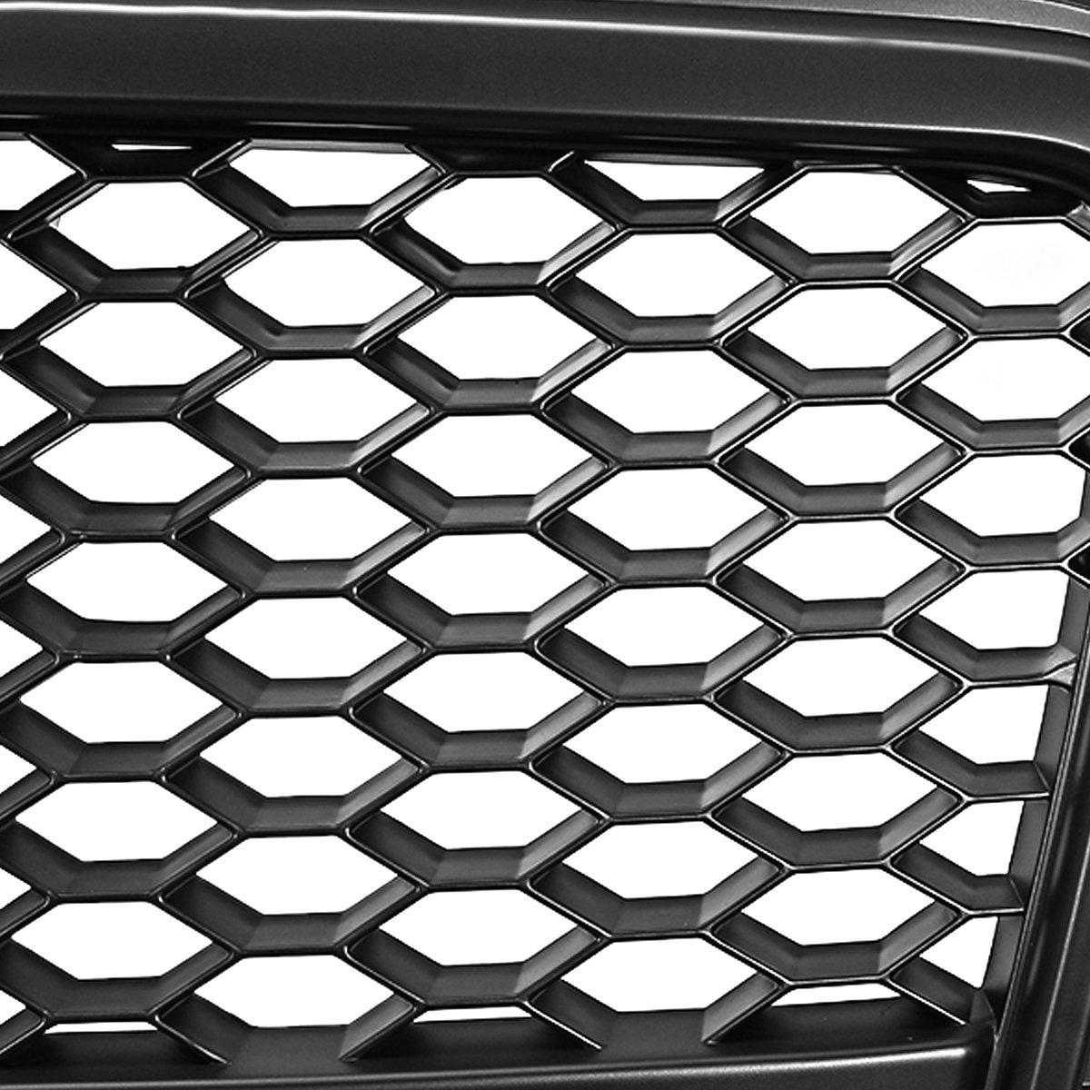 DNA Motoring GRF-071-BK Front Bumper Grille Guard