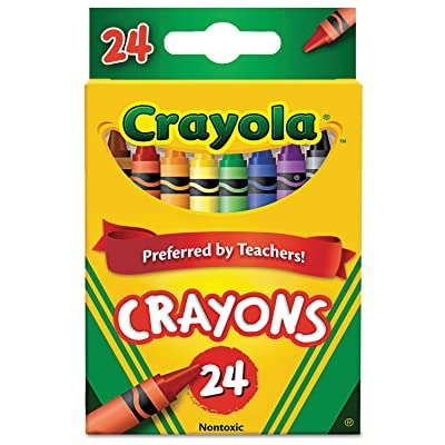 Classic Color Crayons, Peggable Retail Pack, 24 Colors: Beauty