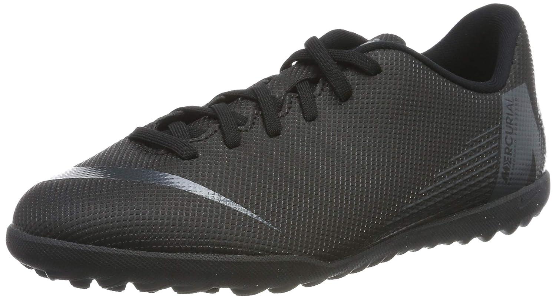 the best attitude c0d7f e4225 Amazon.com   Nike JR MercurialX Vapor 12 Club GS TF Soccer Shoe (Black)  (4.5Y)   Soccer