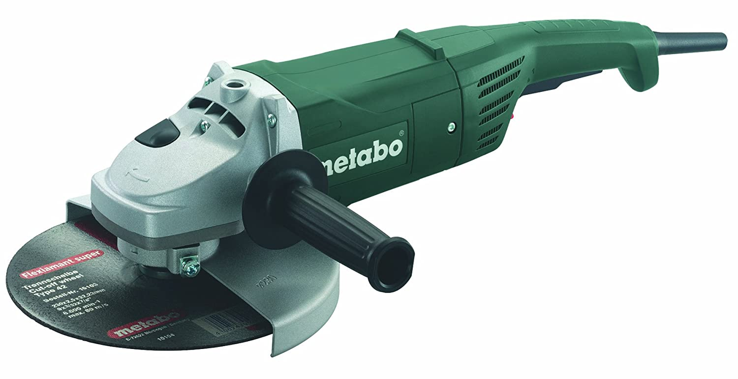 Metabo W2000 9-Inch 15.0-Amp 6,600 RPM Angle Grinder by Metabo B009ATG1J6