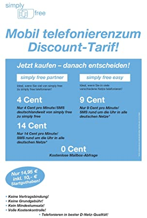 Simply Free Tarjeta prepago con 10 Euros Negro: Amazon.es ...