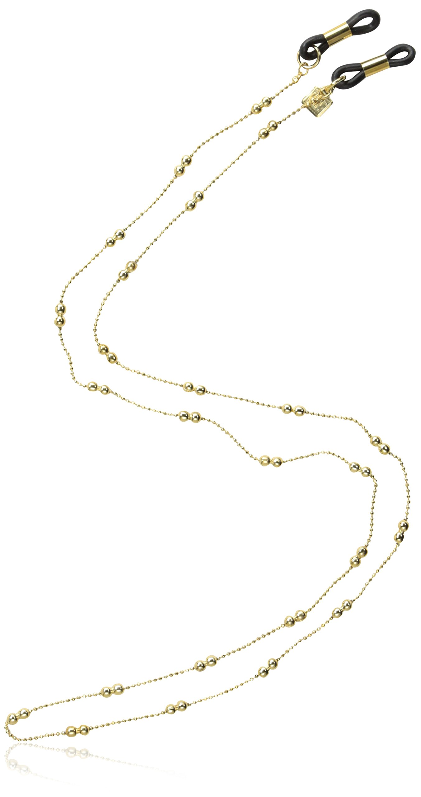 Corinne McCormack Women's Double Ball and Chain,Gold,One Size