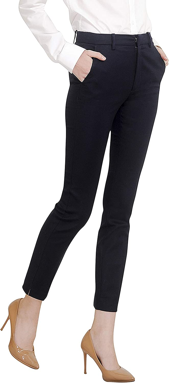 Marycrafts Women's Work Ankle Dress Pants Trousers Slacks