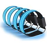 Greatever LED Armband Sonstige 2 Stück Reflective USB Aufladbar LED Jogging Armband ...