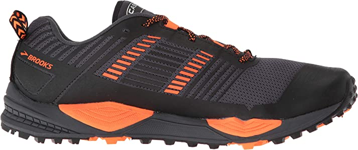 Brooks Cascadia 13, Zapatillas de Cross para Hombre, Multicolor (Grey/Black/Orange 026), 40 EU: Amazon.es: Zapatos y complementos