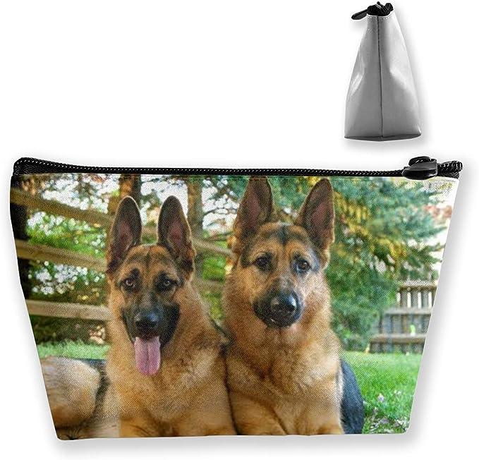 Estuche para lápices trapezoidales de perro pastor alemán: Amazon.es: Equipaje
