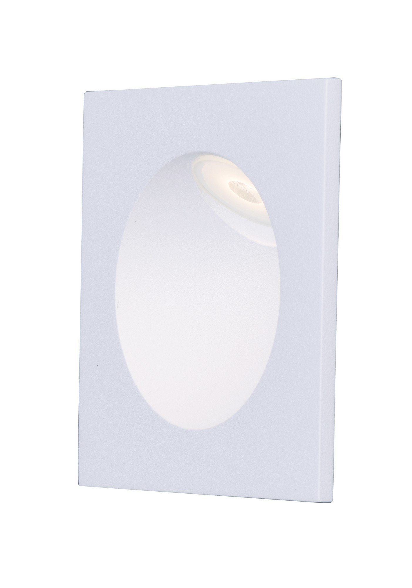 ET2 E41403-WT Alumilux LED Outdoor Wall Sconce, White Finish, Glass, PCB LED Bulb, 50W Max., Dry Safety Rated, Shade Material, 468 Rated Lumens
