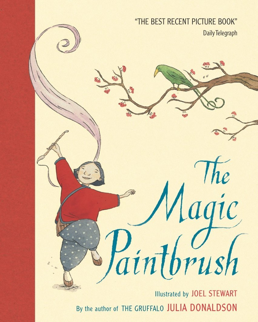 The Magic Paintbrush: Julia Donaldson, Joel Stewart: 9780333964439 ...
