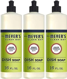 product image for Mrs. Meyer's Liquid Dish Soap - Lemon Verbena - Case of 6-16 oz