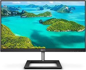 "Philips 278E1A 27"" frameless monitor, 4K UHD IPS, 109% sRGB, Speakers, VESA, 4Yr Advance Replacement Warranty"