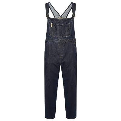 Bowie Dungaree - Pantalón Vaquero para Mujer (Talla M, L, XL): Ropa y accesorios