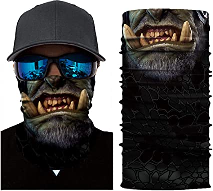 Face Mask Bandana Headwear Scarf Outdoor Hair Band Scarf Neck Wrist Wrap Head