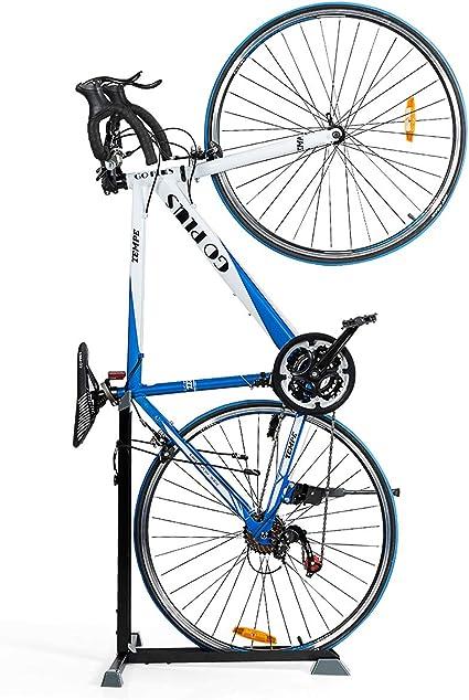 Cavalletto bici parcheggio Supporto per bicicletta Stand verticale per telaio