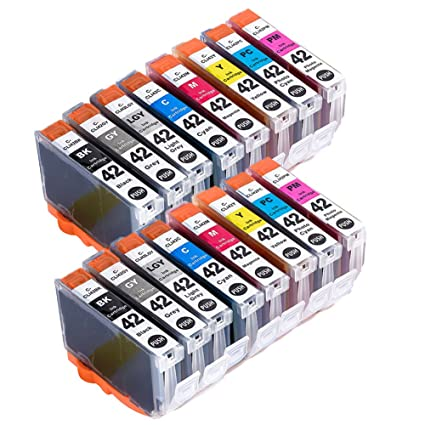 Teng® - Lote de 16 Cartuchos de Tinta compatibles con Canon PIXMA ...